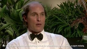 """Matthew McConaughey o filmie """"Gold"""""""