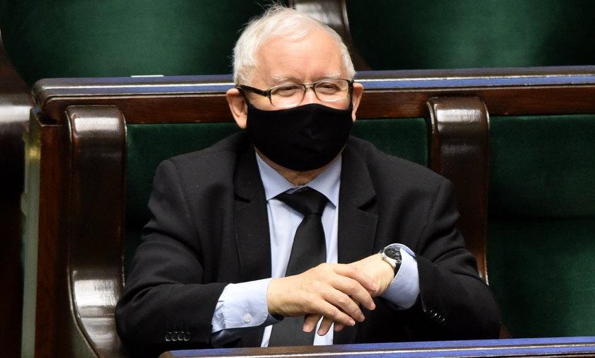 Jarosław Kaczyński nadal bez szczepionki na koronawirusa