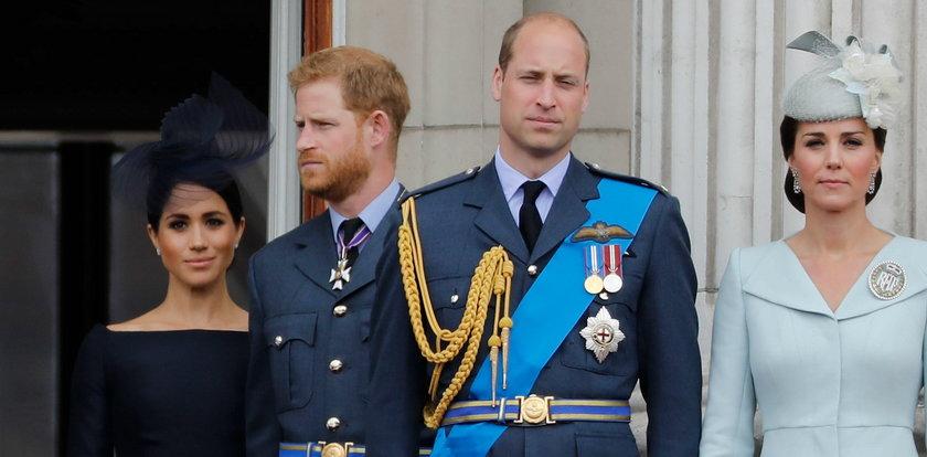 William i Harry wydali wspólne oświadczenie. Chodzi o Meghan...