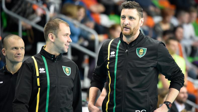 Piotr Gruszka (z prawej)