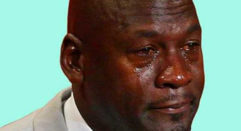 A man man-crying