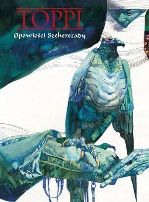 """""""Opowieści Szeherezady"""" - scenariusz, ilustracje: Sergio Toppi (wyd. Egmont Polska)"""
