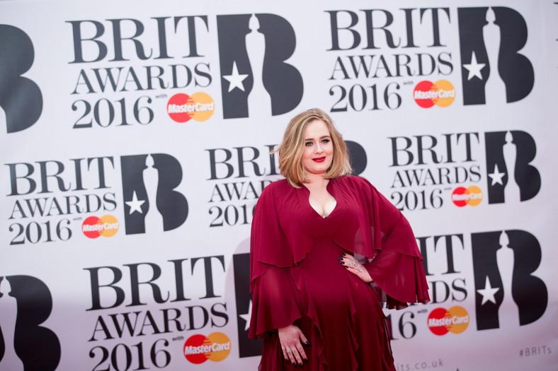 Adele uświetniła ceremonię wręczenia brytyjskich nagród muzycznych