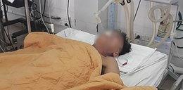 48-latek walczył o życie. Lekarze podali mu ... piwo