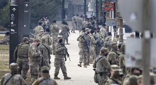 W Waszyngtonie przed inauguracją Bidena więcej żołnierzy niż łącznie w Iraku i Afganistanie