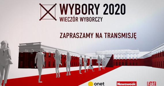 Wybory prezydenckie 2020. Wieczór wyborczy w Onecie [NA ŻYWO]