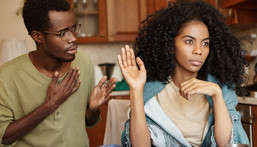 Men, if a babe tells you these 5 things, you should be very worried [Credit - Madamenoire]