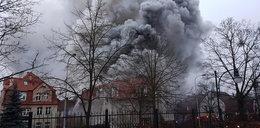Groźny pożar w Gdańsku Oliwie. Są poszkodowani