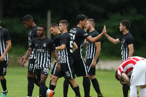 """UŽIVO Crno-beli """"overavaju"""" plasman u drugo kolo kvalifikacija za Ligu Evrope, pogodio Pantić, Partizan - Rudar 1:0"""