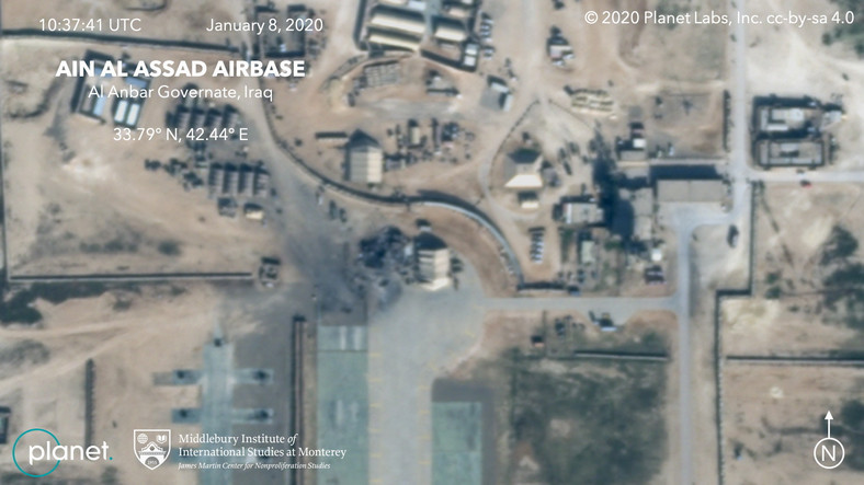 Według władz Iranu, była to zemsta za śmierć generała Kasima Sulejmaniego, zabitego w ataku amerykańskich dronów.