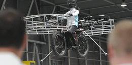 Zbudowali latający rower! Zobacz go!