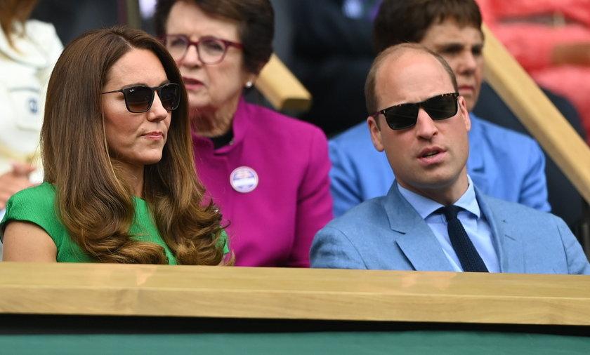 Kate i William na Wimbledonie