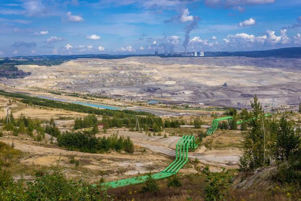 Kopalnia węgla w Turowie