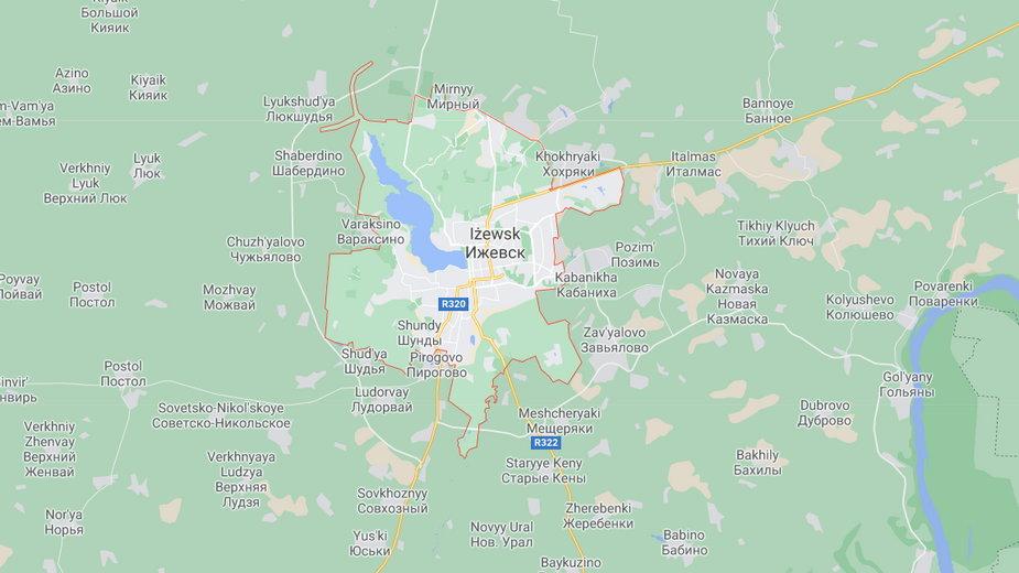 Przedstawienie zostało zorganizowane przez oddział kościoła prawosławnego w Iżewsku