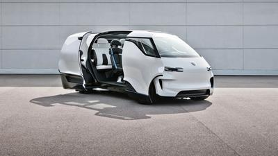 Elektryczny van Porsche - powrót do przyszłości