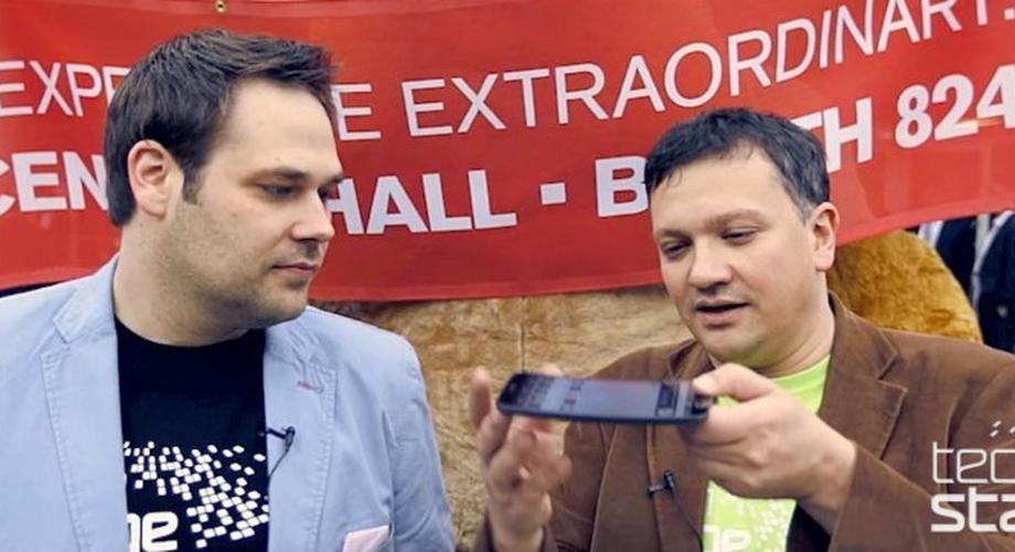 CES 2014: Hands-on mit dem LG G Flex