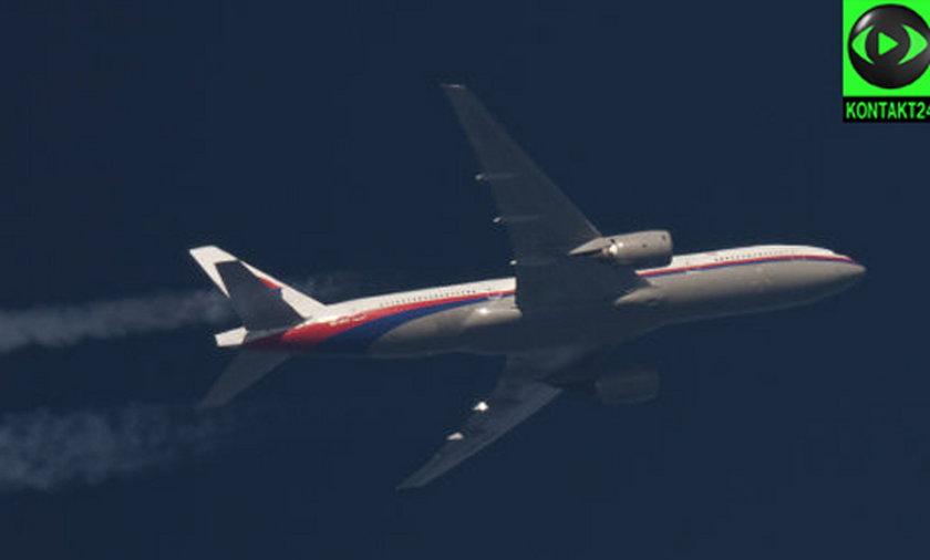 oeing rozbity w Malezji latał nad Polską!