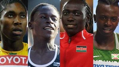 These 4 African athletes are barred from ever competing in the Olympic events because their natural testosterone levels are deemed too high