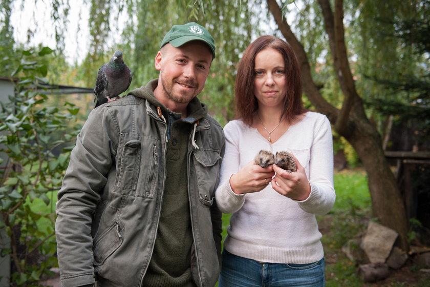 Agnieszka i Sławomir Łyczko z Bielska