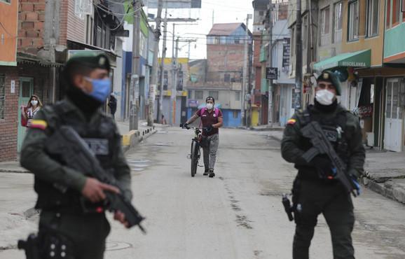 Policija u Kolumbiji