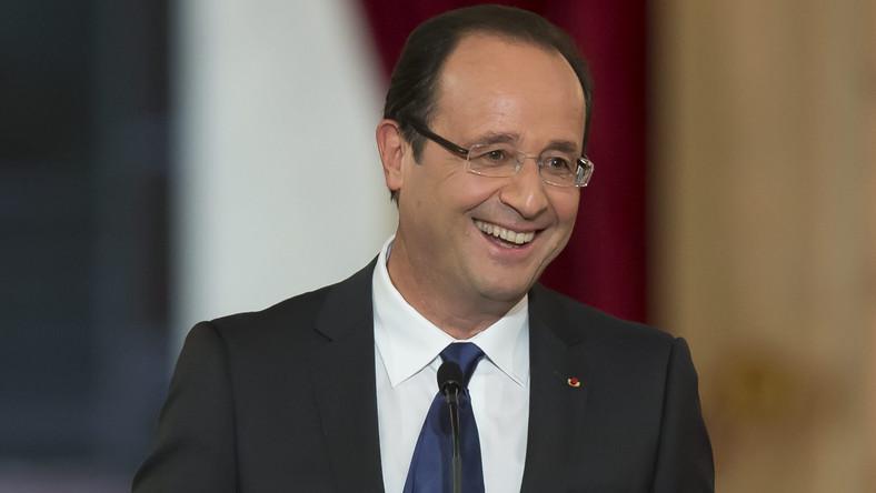 prezydent Francji Francois Hollande