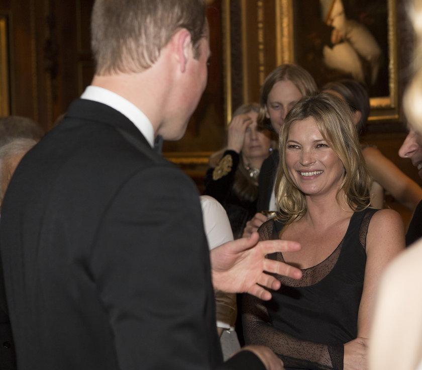 Kate Moss i książę William