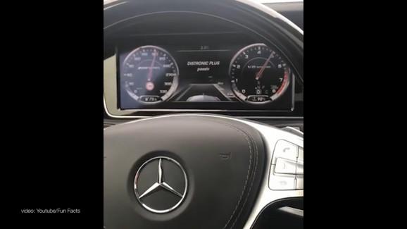 Vozio brzinom od 245 kilometara na sat