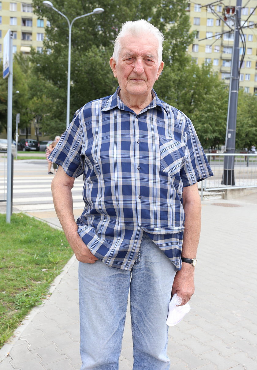 Antoni Kostro (80 l.), mieszkaniec Targówka: