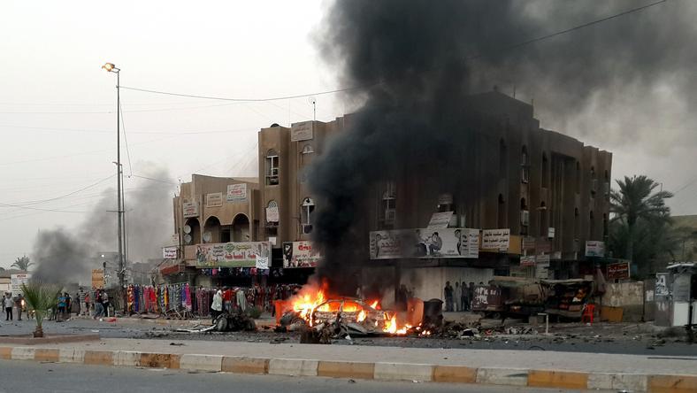 Zamachy w stolicy Iraku