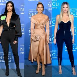 Kardashianki jak zwykle świeciły dekoltem, ale wpadkę zaliczył ktoś inny