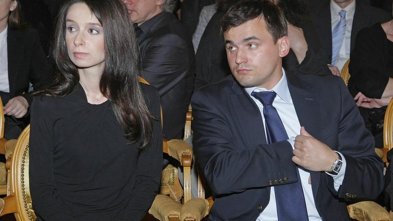 Marta Kaczyńska i Marcin Dubieniecki