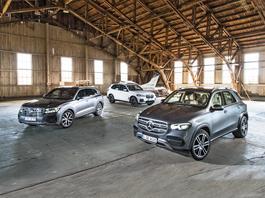 BMW X5 kontra Mercedes GLE i Volkswagen Touareg - który luksusowy SUV jest lepszym wyborem?
