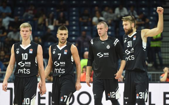 BC Partizan, AEK