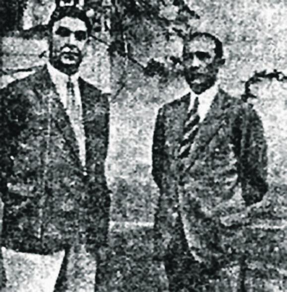 Ante Pavelić i Vančo Mihajlov
