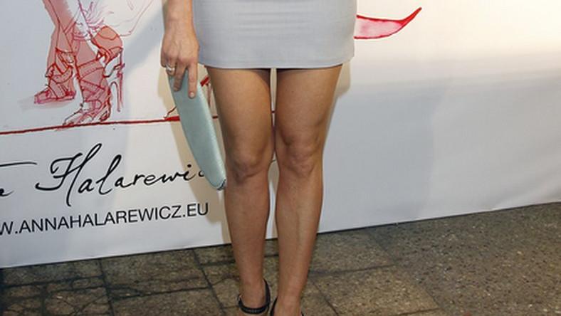 Tych nóg nie dało się nie zauważyć podczas warszawskiej imprezy…