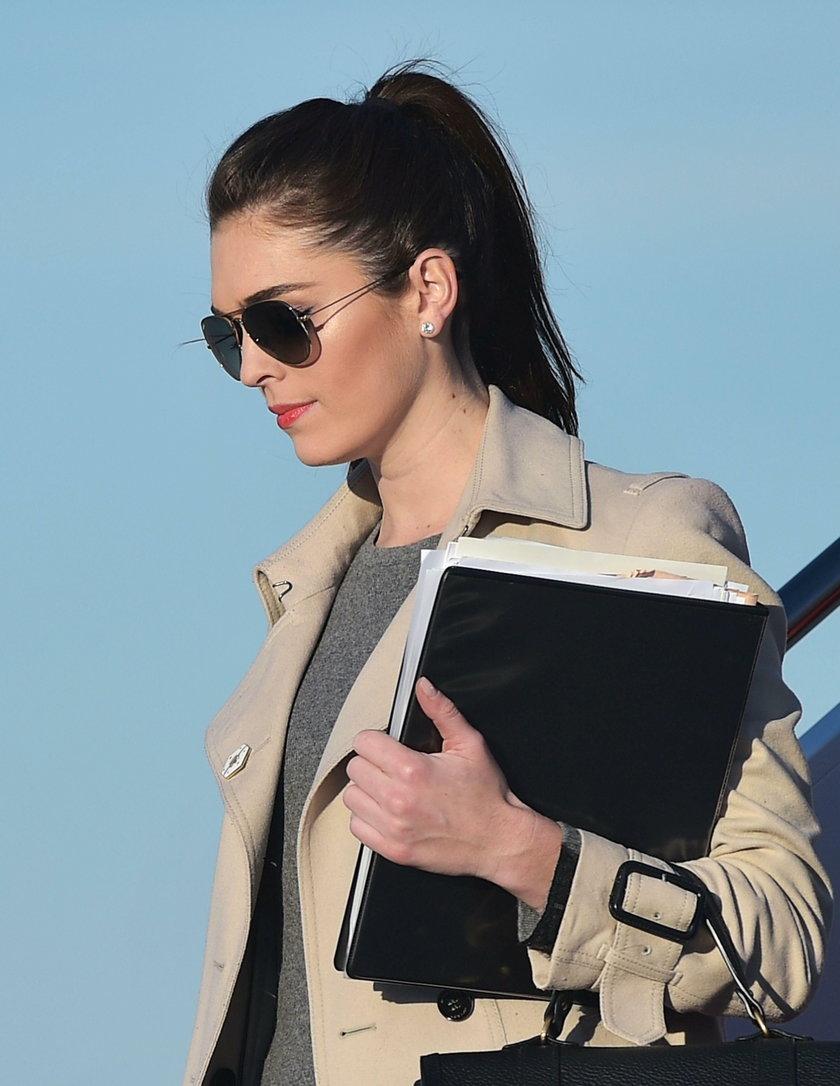 Piękna twarz Białego Domu. 28-letnia Hope Hicks dyrektorem ds. informacji