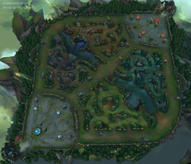 Arena do gry w League of Legends
