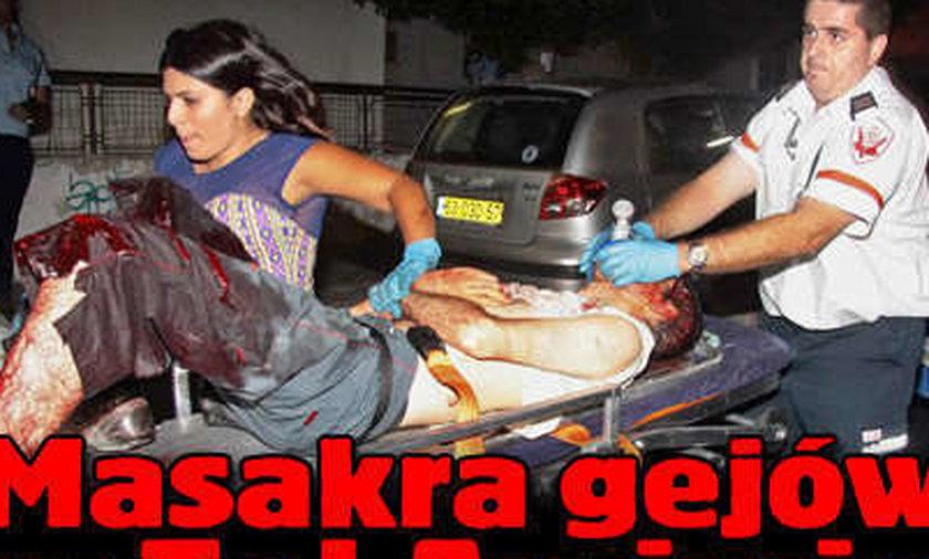 Masakra gejów w Tel Awiwie