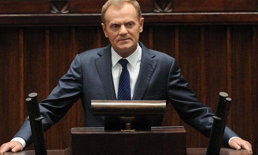 Debata w sejmie na temat katastrofy Smoleńskiej.