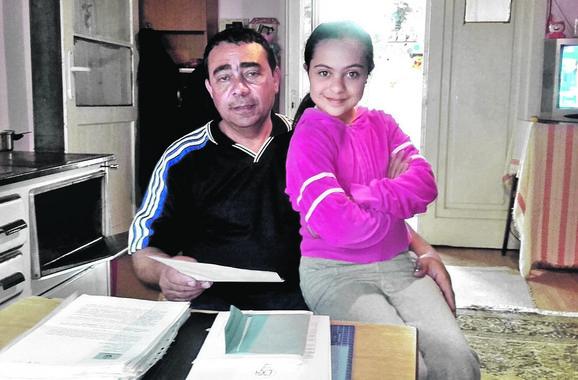 Adus Avdo sa ćerkom