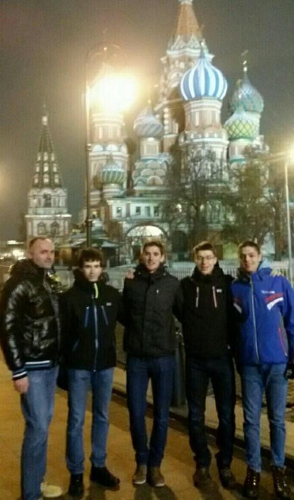 Zlatni matematičari u Moskvi