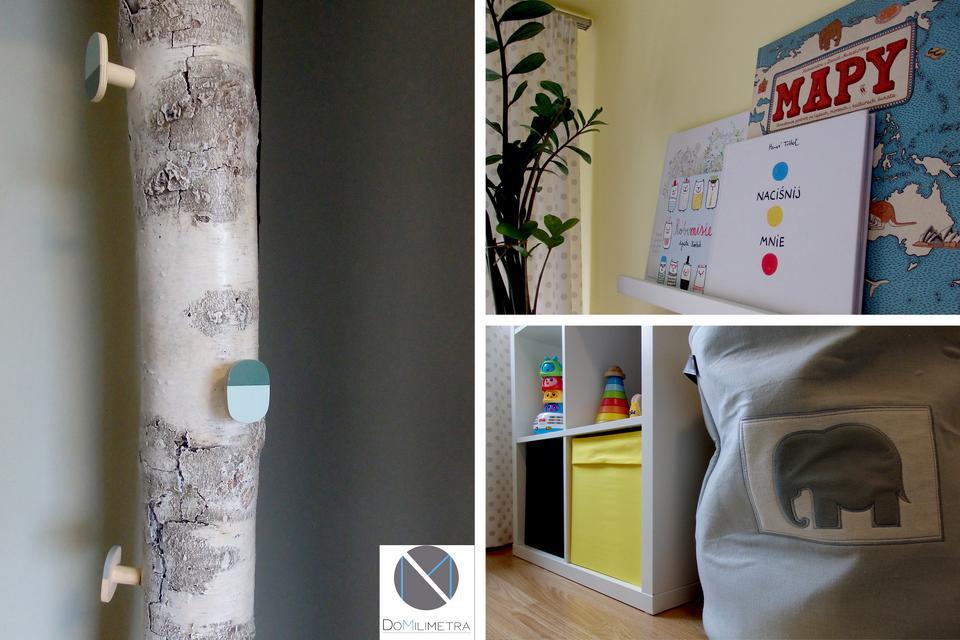 Detal w pokoju dziecka