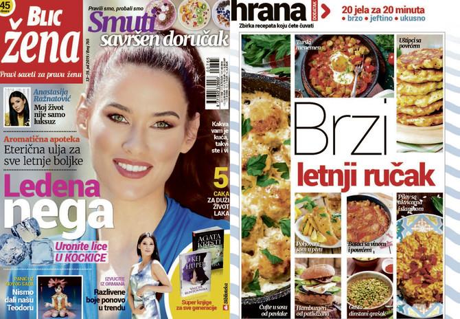 "Nova ""Blic žena"" na kioske stiže u subotu 13. jula"