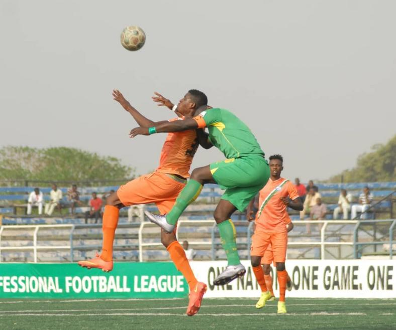 Plateau United recorded a home win against Go Round