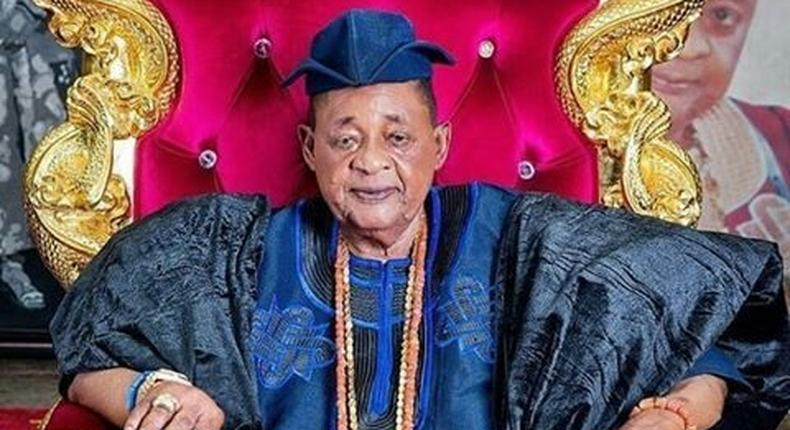Alaafin of Oyo, Oba Lamidi Adeyemi (Premium Times)