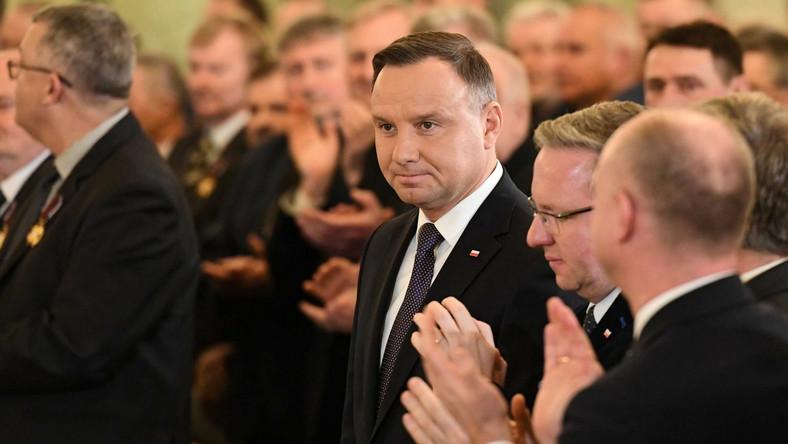 Prezydent Rzeczypospolitej Andrzej Duda