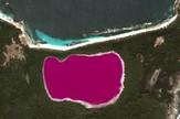 Jezero roze Midl Australija