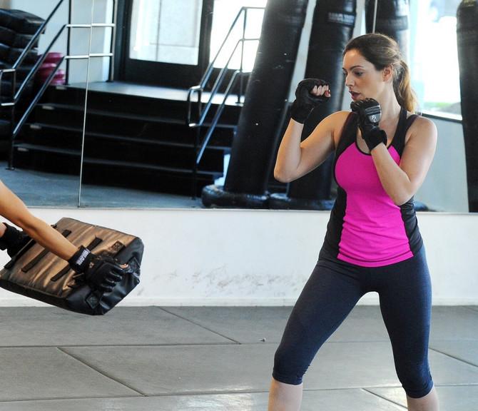 I Keli Bruk na ovaj način voli da se oslobodi viška energije i kalorija