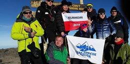 Weszli na Kilimandżaro, żeby pomagać