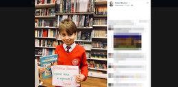 Nietypowa prośba 9-latka do Roberta Biedronia. Internauci go pokochali